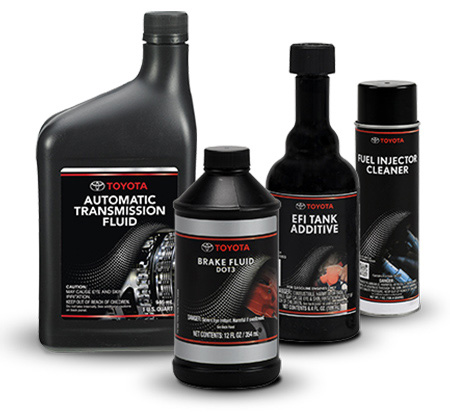 Toyota Fluid Replacement